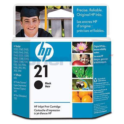 HP NO 21 INKJET CARTRIDGE BLACK